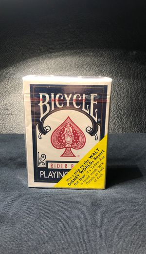 Rare Rider Backs Playing Card for Sale in Montebello, CA
