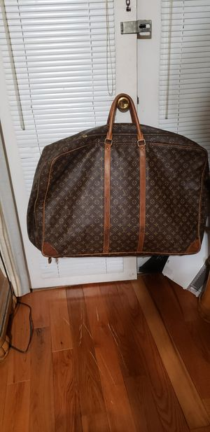 Authentic Louis Vuitton Sirius Vintage Soft Suitcase Monogram Leather bag for Sale in Decatur, GA