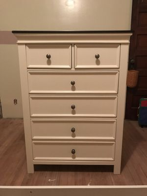 Brand new Beautiful Cream with Walnut Top Dresser for Sale in Hillisburg, IN