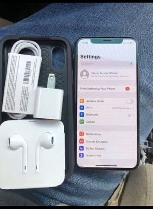 iPhone X 64gb for Sale in Denver, CO