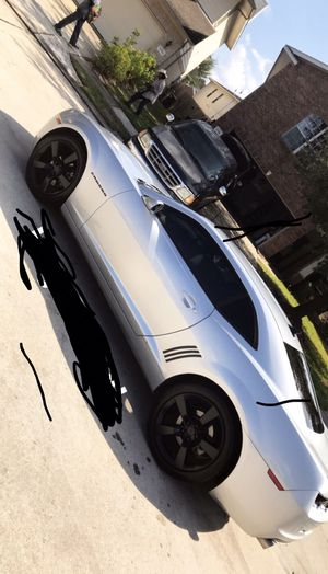 Camaro tires and rims sz 20 5 lug for Sale in Pflugerville, TX