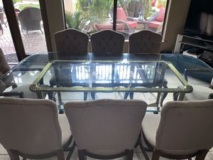 Glass Dining room table for Sale in Norco, CA