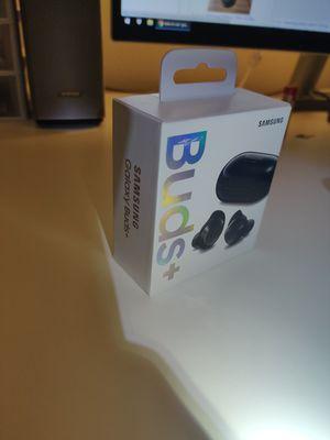 Samsung Galaxy Buds+ True Wireless Earbud Headphones Black Buds Plus for Sale in Richardson, TX