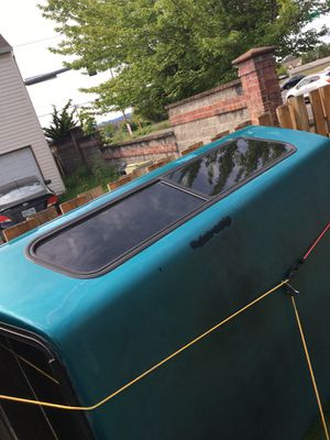 Camper shell for Chevy Silverado for Sale in Beaverton, OR