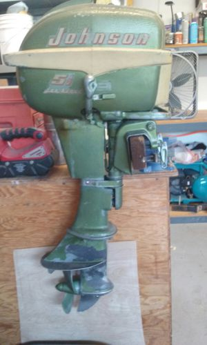 1956 5.5 horsepower outboard motor for Sale in Costa Mesa, CA