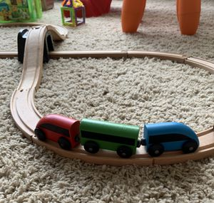 IKEA 20-piece basic train set for Sale in Dallas, TX