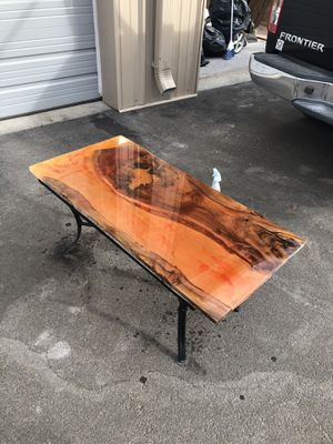 Epoxy tables with teak wood! for Sale in Lakewood, CO