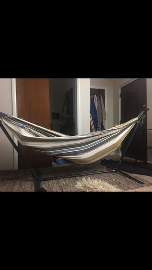 Almost new hammock for Sale in East Dundee, IL