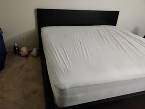California king size malm bed frame (IKEA) for sale for Sale in Rockville, MD