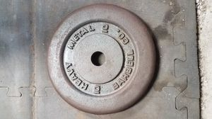 10lb Heavy metal brand plates for Sale in Kailua, HI