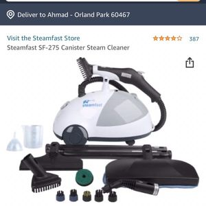New Steamfast SF-275 Canister Steam Cleaner for Sale in Orland Park, IL