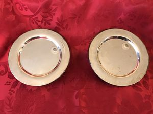 Silver dessert plates for Sale in Jenks, OK