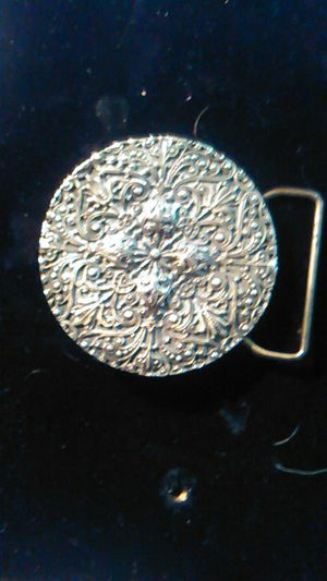 Tiffany's of NY ladies brass Western buckle for Sale in PT CHARLOTTE, FL