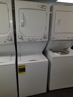 """GE 24""""wide new Open box electric laundry center 6months warranty for Sale in McDonogh, MD"""