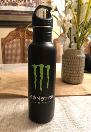 Monster Energy stainless steel water bottle for Sale in Mansfield, TX