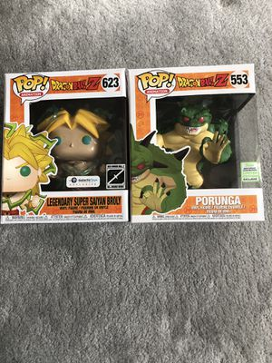 Broly and Porunga Funko Pop for Sale in Gresham, OR