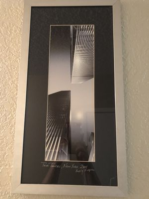 Original Twin Towers Photograph for Sale in Sanger, CA