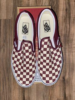 New Men's Size 10.5 Slip On Vans SEND ME AN OFFER for Sale in Huntington Beach,  CA