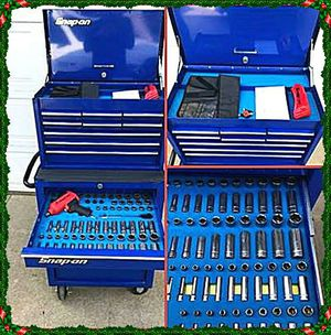 TOOL BOX Snap On with Tools for Sale in Alexandria, VA