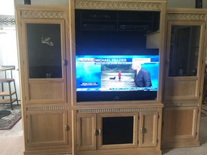 Entertainment Center and Sofa Table for Sale in Christiana, TN