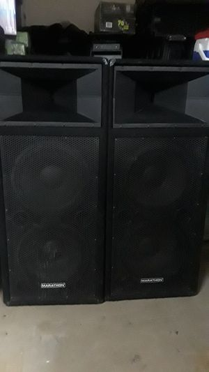 "Pair of Dual 15"" Marathon main speakers loaded w JBL drivers for Sale in Litchfield Park, AZ"