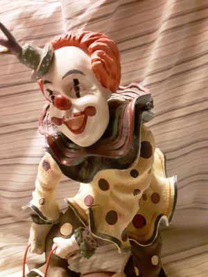 Whiteface clown for Sale in Bethel Island, CA