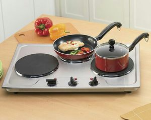 Stainless Steel Tabletop Triple Burner for Sale in Hannibal, MO