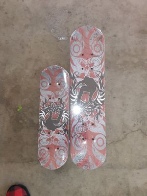 Medium and small skateboard both for $ $25 for Sale in Palmdale, CA