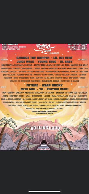 rolling loud 2019 for Sale in Los Angeles, CA