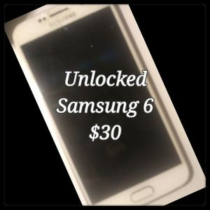 Samsung 6 for Sale in Sacramento, CA