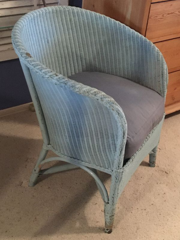 Wicker Chair by Sirrum Loom/Antique/Collectible/Vintage