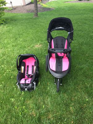 Baby trend stroller and car seat for Sale in Dublin, OH