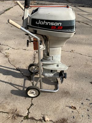1994 Johnson outboard 9.9 motor for Sale in CARPENTERSVLE, IL