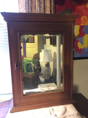 Antique medicine cabinet for Sale in Raleigh, NC