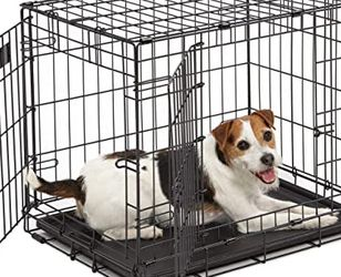 """ICrate Double Door Dog Crate 24"""" With Pad for Sale in Los Angeles,  CA"""