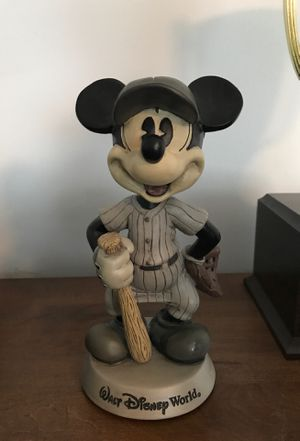 Walt Disney World Mickey Mouse Bobblehead Figurine for Sale in Selinsgrove, PA