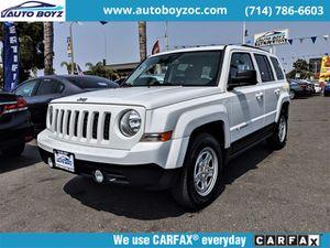 2016 Jeep Patriot for Sale in Garden Grove, CA