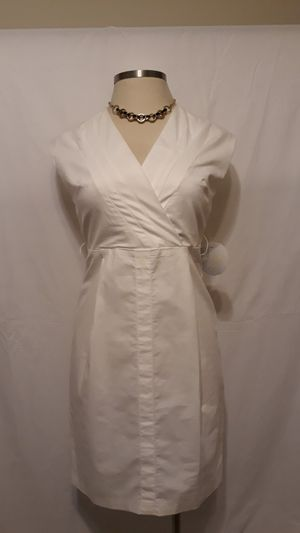 White A-Line Dress - Size 12 for Sale in Snellville, GA