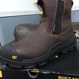Work Boots 🥾//Caterpillar Throttle Nano Toe WP (Men's)size (11.5)(12)(13) for Sale in Morton Grove, IL