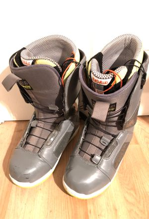 Men' Snowboard Boots Thirtytwo size 10 Sonik FT for Sale in Milpitas, CA
