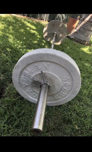 Olympic Size Concrete Weights for Sale in Rialto, CA