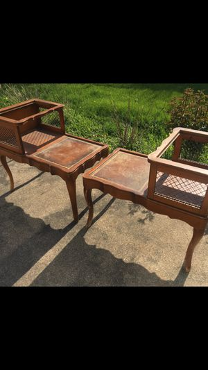 Two antique tables for Sale in Clarendon Hills, IL