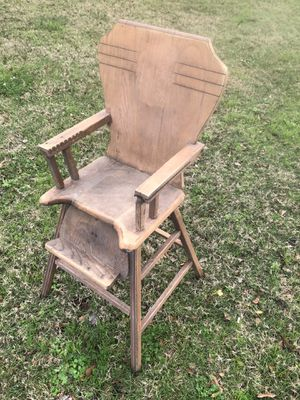 Wooden high chair for Sale in Beaumont, TX