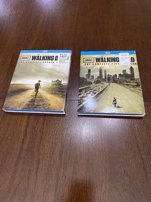 Blu Ray The Walking Dead Season 1 and 2 for Sale in Ruskin, FL