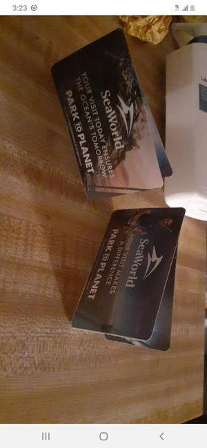 4 SeaWorld Tickets for Sale in CORP CHRISTI, TX