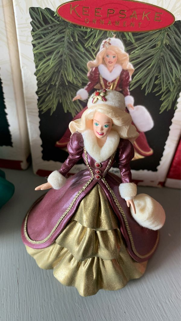 FREE Hallmark Holiday Barbie ornaments GETTING TRASHED SUNDAY!