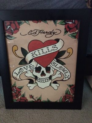 Ed Hardy Picture Frame for Sale in San Diego, CA