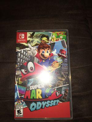 Super Mario odyssey for Nintendo switch for Sale in Marietta, GA