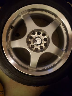 16 inch rims 5x100 lugs universal 5 lugs 5x115 4 rims no tires for Sale in Orlando, FL