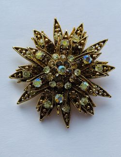 Vintage Art Deco Floral Brooch for Sale in Hatboro,  PA